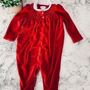 Ralph Lauren Baby Girl Long sleeve Onesie 9months